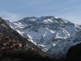 Marrakech group excursion to the Atlas Mountains and Ourika valley